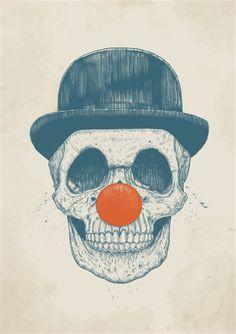 Poster | DEAD CLOWN von Balazs Solti