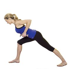 For a beautiful back: This #yogapose targets your back, triceps, shoulders, waist, thighs, hips, butt. | Health.com