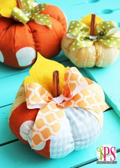 Yesterday, I shared a quick and easy tutorial for creating elegant, vintage-inspired decoupaged lace pumpkins that are absolutely perfect to punch up your Halloween decor. If you're in the market, though, for a pumpkin project that you can display throughout the fall season, today's tutorial–Plush Patchwork Pumpkins (try saying that three times fast!)–might be …