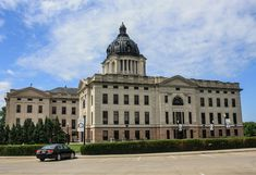 Top 5 Capitols in the United States Pierre South Dakota, South Dakota State, Column Capital, Capital City, Moorish, Historical Society, Architectural Elements, Beautiful Buildings, New Mexico