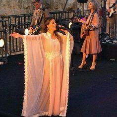 Ana Paula Valadão gravando o CD/DVD #Tetelestai ao vivo em Jerusalém!