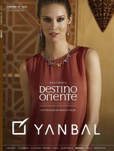 Yanbal catalogo campaña 09 2015  NUEVA TENDENCIA DESTINO ORIENTE UNA TRAVESIA DE MODA Y COLOR