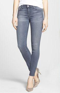 Genetic 'Shya' Mid Rise Skinny Jeans (Riff)