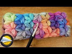 Πλεκτή χειμωνιάτικη κορδέλα με αστεράκια | Εύκολο Μοτίβο Γιασεμί - YouTube Star Patterns, Merino Wool Blanket, Crafty, Knitting, Crochet, Christmas, Headband Pattern, Headband Crochet, Cross Stitch Geometric