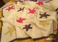 Derya Baykal yıldızlı battaniye yapımı