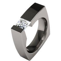 titanium rings unique