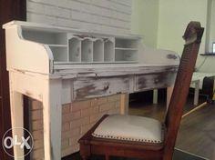 Stylowy sekretarzyk, Shabby chic, vintage, biały Krzeszyce - image 1