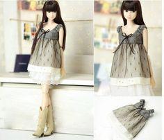 Handmade High Class Lace Doll Skirt Doll Clothes/Momoko Clothes/Nippon Misaki Dresses/PoppyParker Doll Dress LL