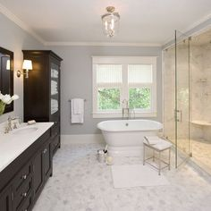 Clawson Architects Projects - traditional - bathroom - new york - Clawson Architects, LLC