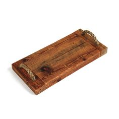 Callahan Serving Board - Color: Stained with Mineral Oil Wooden Cheese Board, Cheese Platter Board, Cheese Boards, Rustic Serving Trays, Wood Shop Projects, Diy Projects, Wooden Food, Wood Cutting Boards, Serving Board