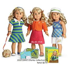 American Girl Doll Lanie's Starter Collection