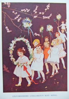 Oxfordshire Childrens May Song by Margaret W. Tarrant (1888-1959)