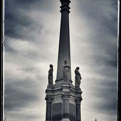 CharlieAshcroft.com Metairie Cemetery, New Orleans, Louisiana Moriarty Monument Love & Revenge #beauty #gothic #canon #followmefollowyou #chicago #neworleans #love #morbid #revenge