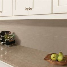 Contemporary gray #kitchen backsplash #tile with Studio District by American Olean.