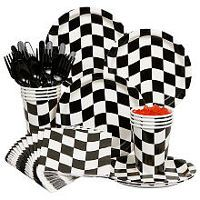 Racing Birthday Party Standard Kit Serves 8