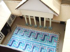 A very clever school arts and crafts Roman Villa project! #FruityComp