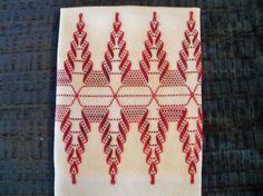 Item 1003F Waves  Swedish Weaving/Huck Weaving by NannasNeedleNook, 7.00