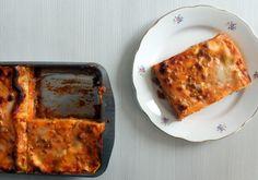 La lasagna al forno