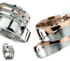 Mezcla de metales en argollas de matrimonio. #ArgollasDeMatrimonio