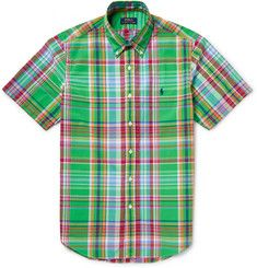 Polo Ralph Lauren - Slim-Fit Checked Cotton-Poplin Shirt | MR PORTER