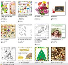 BRICHI: cartells, fitxes, contes projectes, ...molt interessant Cupcake Toppers Free, Ideas Prácticas, Web Gallery, Conte, Teacher Resources, Homeschool, Classroom, App, Album