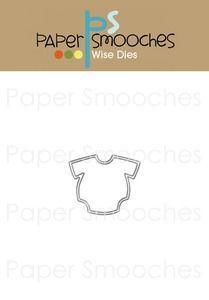 Paper Smooches ONESIE Wise Die Kim Hughes (2.5x2)  [J2D054]