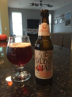 OBH's Old Jail Pumpkin Peach Brown Ale - SO good!!