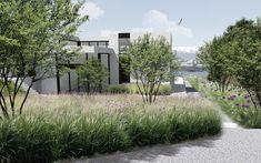 Landscape Concept, Landscape Architecture, Landscape Design, Natural Landscaping, Landscaping Images, Modern Planting, Small Garden Landscape, Garden Studio, Garden Art