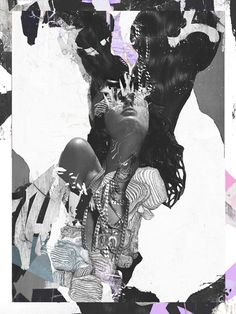 Collage artworks by artist Raphaël Vicenzi, Brussels. Photomontage, Fashion Collage, Fashion Art, Fashion Design, Collage Design, Design Art, Mixed Media Collage, Collage Art, The Wicked The Divine