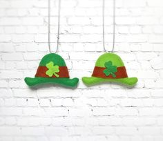 Leprechaun Hat St Patricks Day Baby Green Hat Felt от BelkaUA