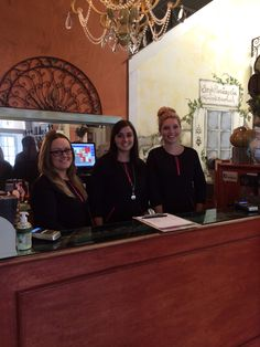 Front desk reception area. Thank you for choosing Summerset Salon & Day Spa!!!