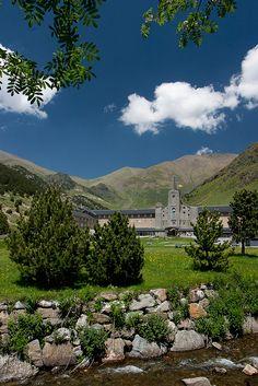 Santuari de la Vall de Núria by Jorge Pazos, via Flickr