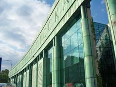 Poland: University of Warsaw Library. Warsaw, Poland, University, Building, Buildings, Community College, Construction, Colleges