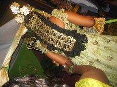 Nigerian bridal accessories - Efik bride