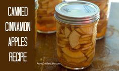 Canned Cinnamon Appl