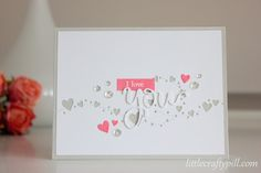 Little Crafty Pill: Last minute Valentine's card!