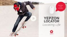 Yepzon GPS locator for people, pets and valuables.