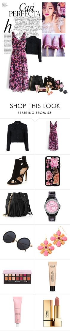 """""""Seo Ji Hye"""" by ildica-33 ❤ liked on Polyvore featuring Whiteley, J.Crew, Whistles, FOSSIL, Liz Claiborne, Anastasia Beverly Hills and Yves Saint Laurent"""