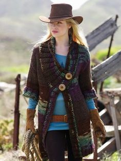 Indie by Sirdar Mode Country, Country Girls, Country Life, Cowgirl Chic, Cowgirl Style, Gypsy Cowgirl, Sirdar Knitting Patterns, Santa Fe Style, Into The West