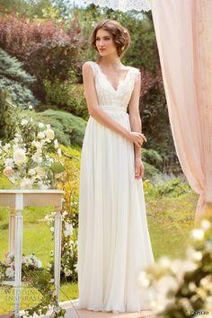 Papilio 2014 Wedding Dress, simple wedding dress.