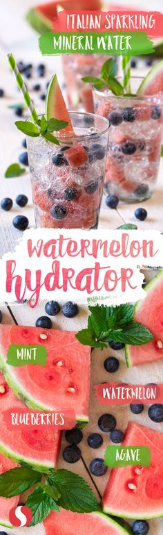 Packed with tasty fruit, this Watermelon Hydrator recipe will be the talk of the block at your next summer soiree! Try it for yourself, you won't be disappointed!