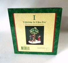 Dept 56 Partridge In Pear Tree Dickens Village Twelve Days #Christmas 5835-1 MIB #Department56 #DickensVillageHeritage