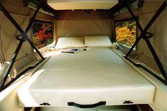 Sportsmobile Custom Camper Vans - Sprinter RB-150SM with Penthouse Top