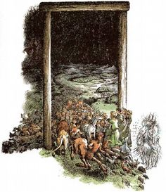 narnia pauline baynes illustrations - Google Search