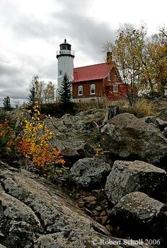 Eagle Harbor Light Eagle Harbor Township Keweenaw County Michigan US 47.459722, -88.159167 © Robert Scholl 2006