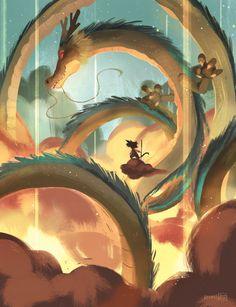 Eternal Dragon, Abigail L. Dela Cruz on ArtStation at https://www.artstation.com/artwork/0Bwny