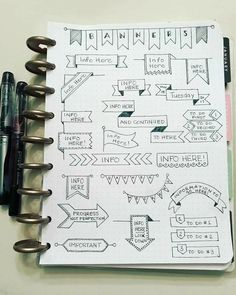 Bullet Journal Headers – 14 Ridiculously Easy Banners and Headers – Diary Of A Journal Planner Bullet Journal Headers – 14 Ridiculously Easy Banners and Headers – Diary Of A Journal Planner – – piconline. Bullet journal headers and banners are