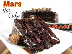 Mars Bar Cake!  Quite possibly the best cake you've ever had!