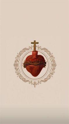 Catholic Wallpaper, Jesus Wallpaper, Catholic Art, Religious Art, Tumblr Tattoo, Image Jesus, Pictures Of Jesus Christ, Christian Pictures, Christian Wallpaper