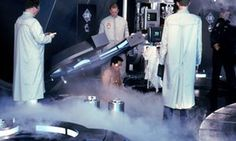 DeLillo's depiction of cryonics is 'perched at the cusp of reality, science fiction and dreamscape'.
